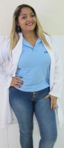 Valeria Cristina - Laboratório, setor de coleta
